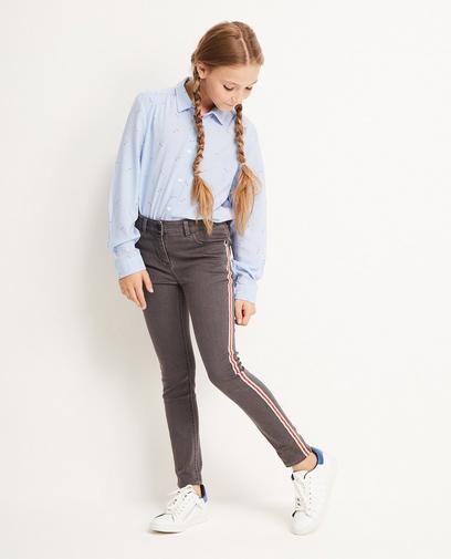 Jeans skinny gris foncé
